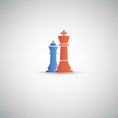 Chess symbol,vector