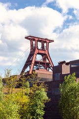 Förderturm der Zeche Zollverein Essen