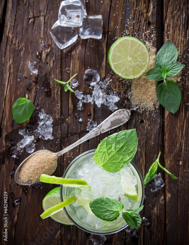 Juliste fresh mojito drink
