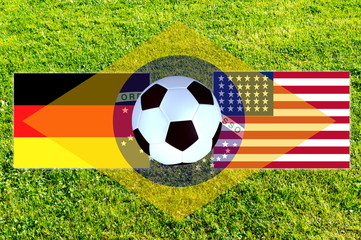 Brazil 2014 G round Germany - USA