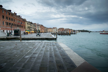 Quai des esclaves à Venise