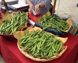 fave al mercato di Volterra