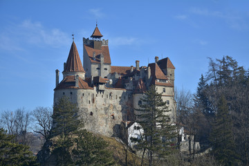 The medieval Castle of Bran.