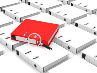 the folder analysis