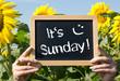 It is Sunday !