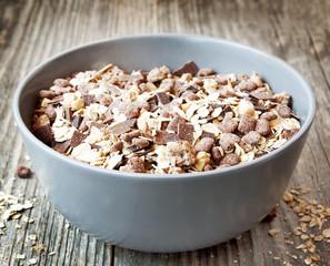 Muesli with Chocolate Flakes