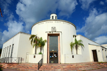 Miami Beach Post Office at 1300 Washington Avenue