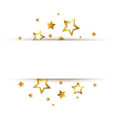 Goldene Sterne - Banner