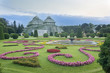Palm house garden Vienna Austria