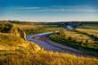 Leinwandbild Motiv North Dakota Badlands