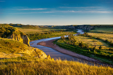 North Dakota Badlands