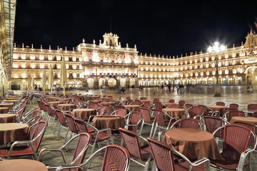 Mayor square, Salamanca,spain