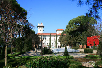 Khedive Palace in Istanbul,Turkey