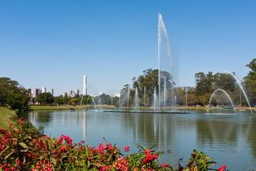 Ibirapuera Park Foutain - São Paulo, Brazil