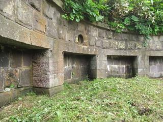函館の砲台跡