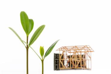 建築業の成長イメージ