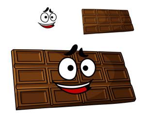 Cartoon chocolate dessert
