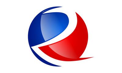 R alphabet logo symbol