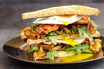 Bacon and Egg Sanwich