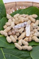 Peanut boiled in basket
