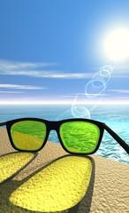 protection des yeux - lunettes de soleil