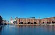 Albert Dock and Liver Buildings Liverpool UK