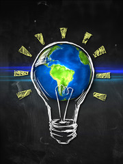 Earth Bulb Idea
