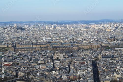 Vue panoramique de Paris depuis la tour Montparnasse Poster