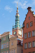Tower of old city hall,Gdansk, Poland