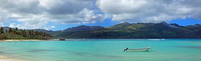 panorama sur lagon de la plage rincon