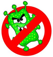 Viren verboten