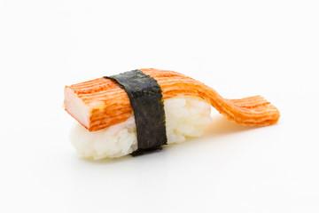 Sushi crab stick.