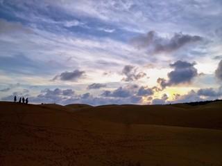 Desert Landscape, Red Sand Dunes, Mui Ne, Vietnam, Asia