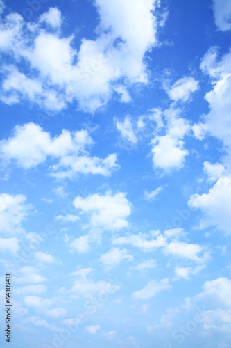 canvas print picture Sky and clouds