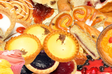 Cake And Pastry Assortment