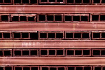 perforated terracotta bricks