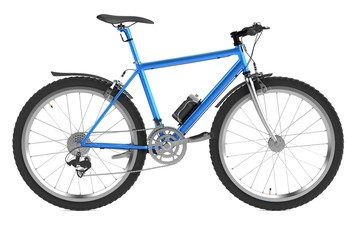 realistic 3d render of mountain bicycle
