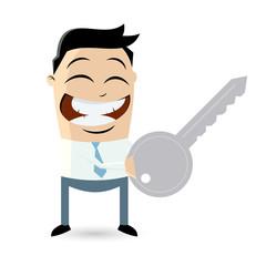 schlüssel sicherheit business mann verschlüsselung