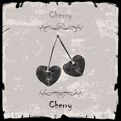 Cherry label