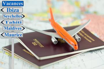 passeports voyages vacances autour du monde
