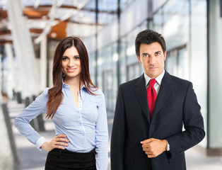 Business people portrait