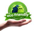 eco friendly! Button, icon