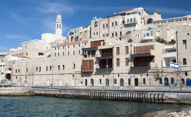 Old Jaffa (Yaffo) port