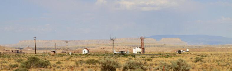 paysage aérodrome de l'Utah