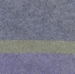 cashmere strip of grey, yellow and lilac