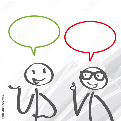 Gespräch. Meinungsaustausch - 64314050