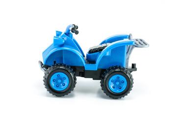 ATV car toy isolated