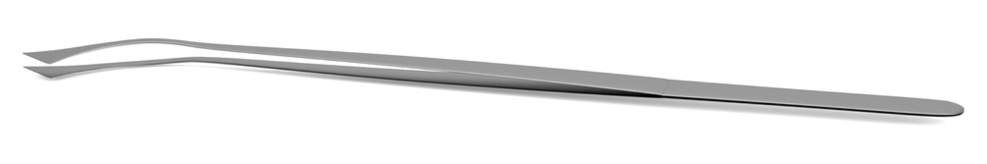 realistic 3d render of tweezer