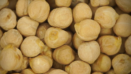 Loopable background of Chickpeas