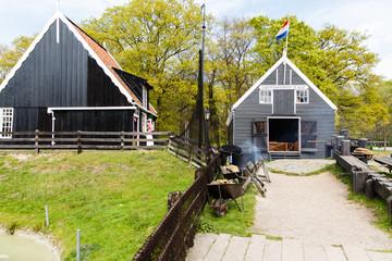 Scheepswerf uit Marken Noord-Holland